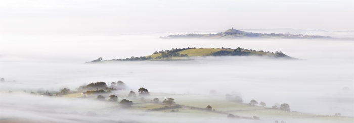 Glastonbury Mist on the Somerset