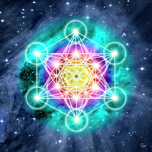 Sacred geometry representing the New Earth Communities of a Harmonious Earth
