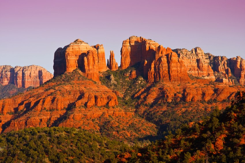 Beautiful view of Sedona, Arizona. Major Earth Vortex