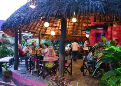Cozumel Restaurant Outside Seating