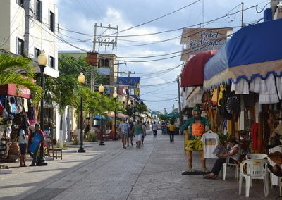 Cozumel Street Sowntown
