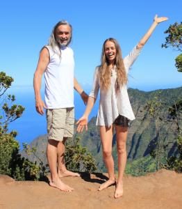 Kirk and Bridget in Kauai