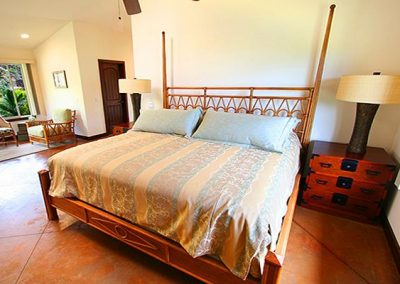 1 of 4 Villa Cinco's suites, king bed & single bed, private bath