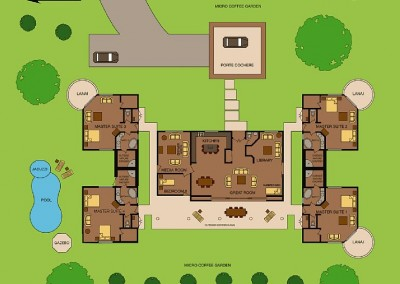 Quatro & Cinco Floorplan