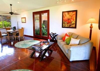 Villa-Quatro Living Room