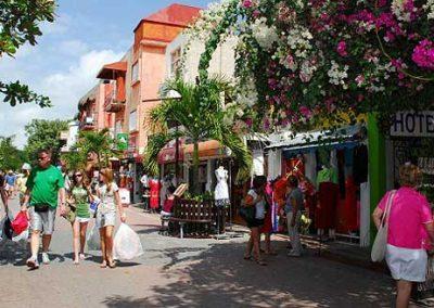 Playa del Carmen Street Shopping