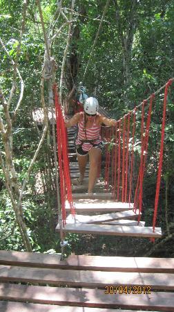 Selva Maya Rope Bridge