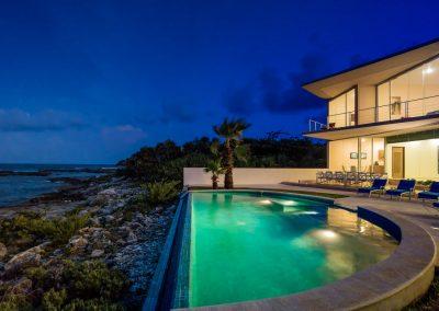 Villa Gauguin Back at Night