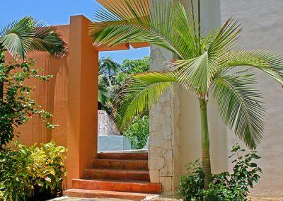 Villa Gauguin Front Steps