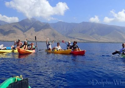Maui Adventure - Kayaking with Whales6