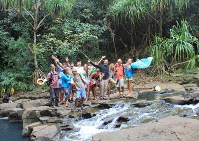 Maui Adventure - Waterfall Swim1