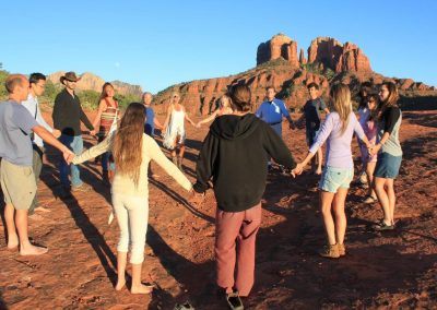 Sedona Adventure Group Circle