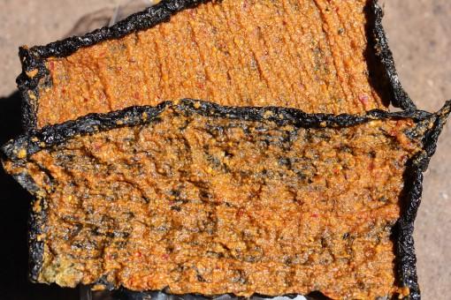 Spicy Nori Bites Closeup