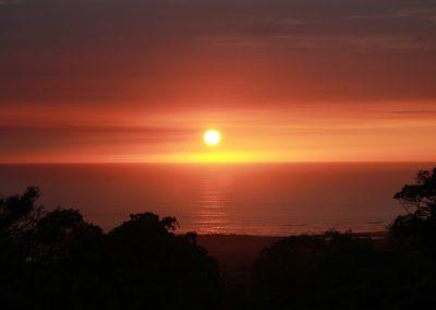 Sunset from Kona Villa