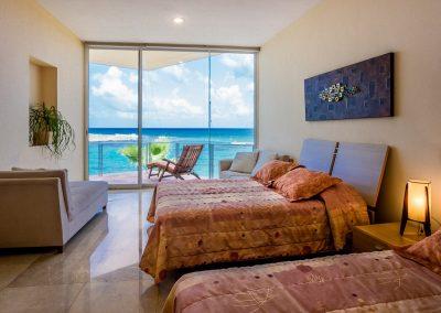 Villa Gauguin BR 3, second floor, two queen beds, private bath, ocean view